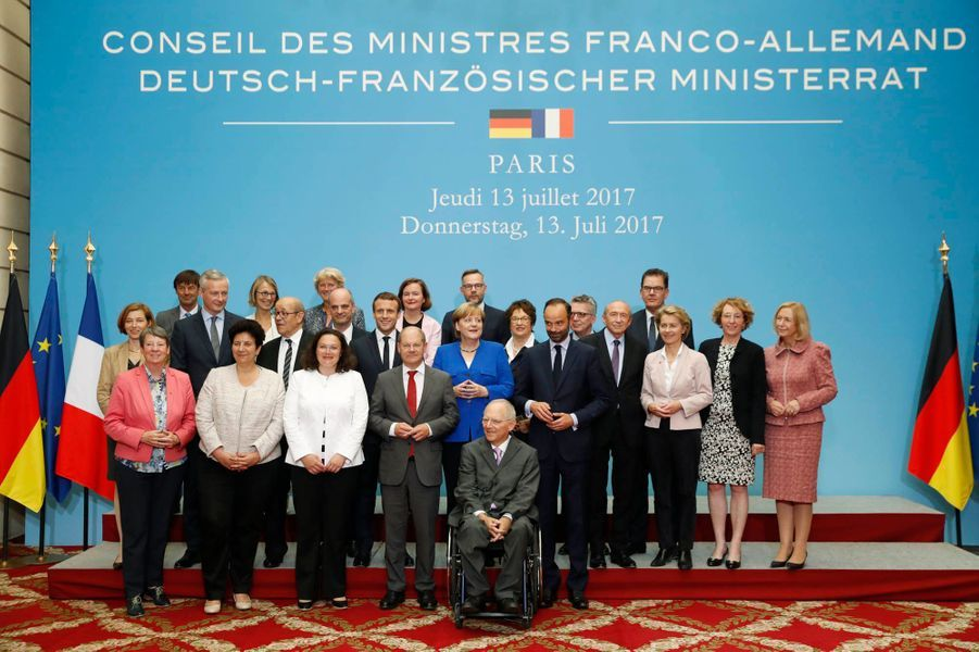Un Conseil des ministres franco-allemands.