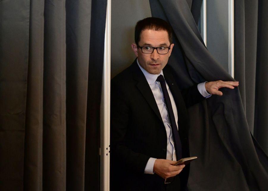 Benoît Hamon A Voté À Trappes