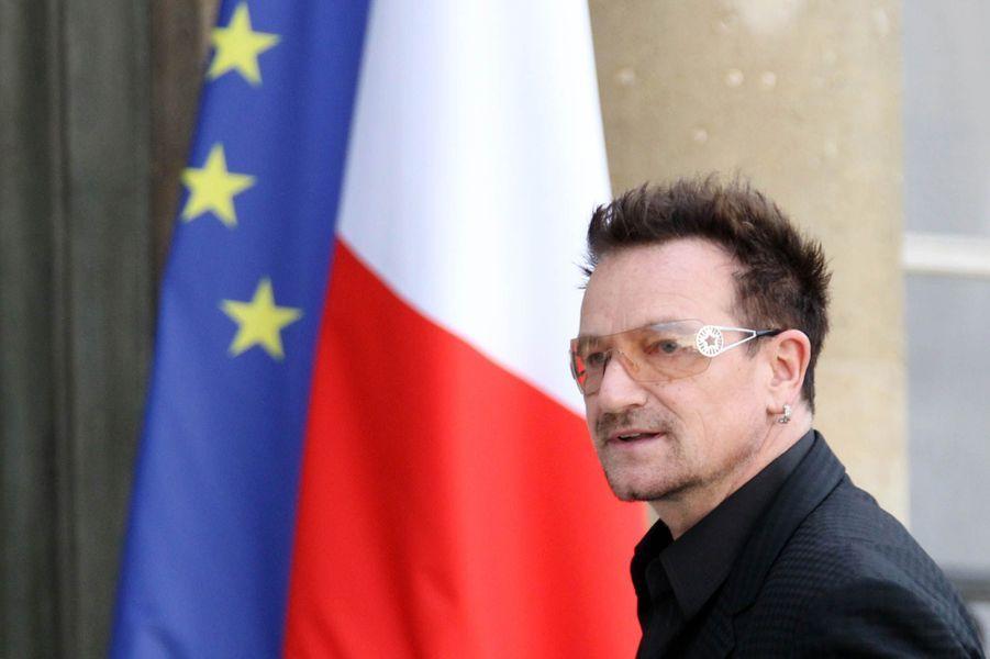 Rencontre à l'Elysée avec Nicolas Sarkozy le 17 septembre 2010.
