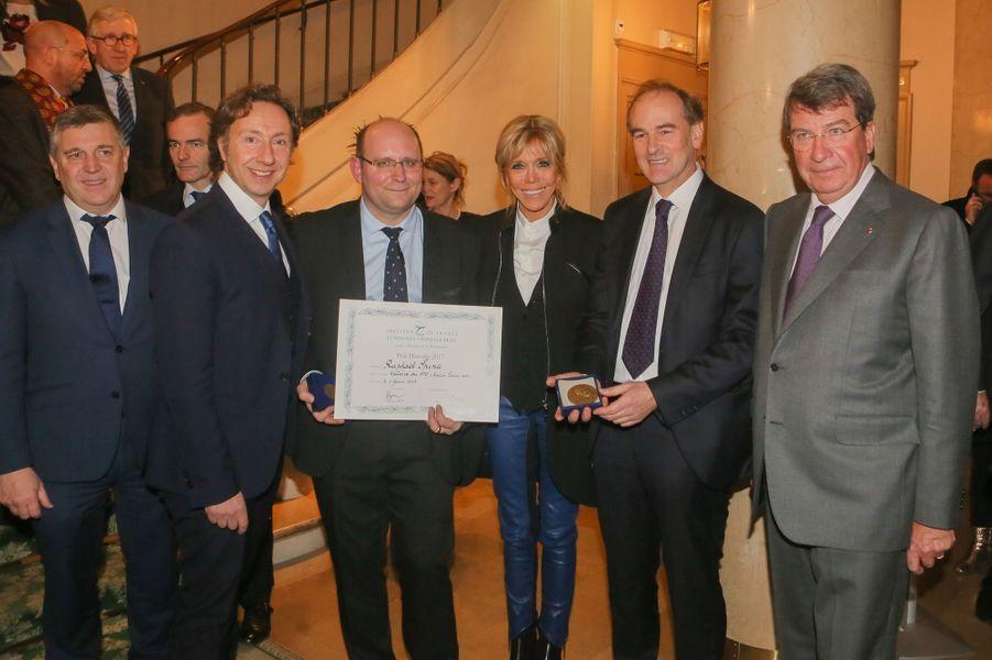 En compagnie de Raphaël Spina, récompensé du Prix Histoire 2017