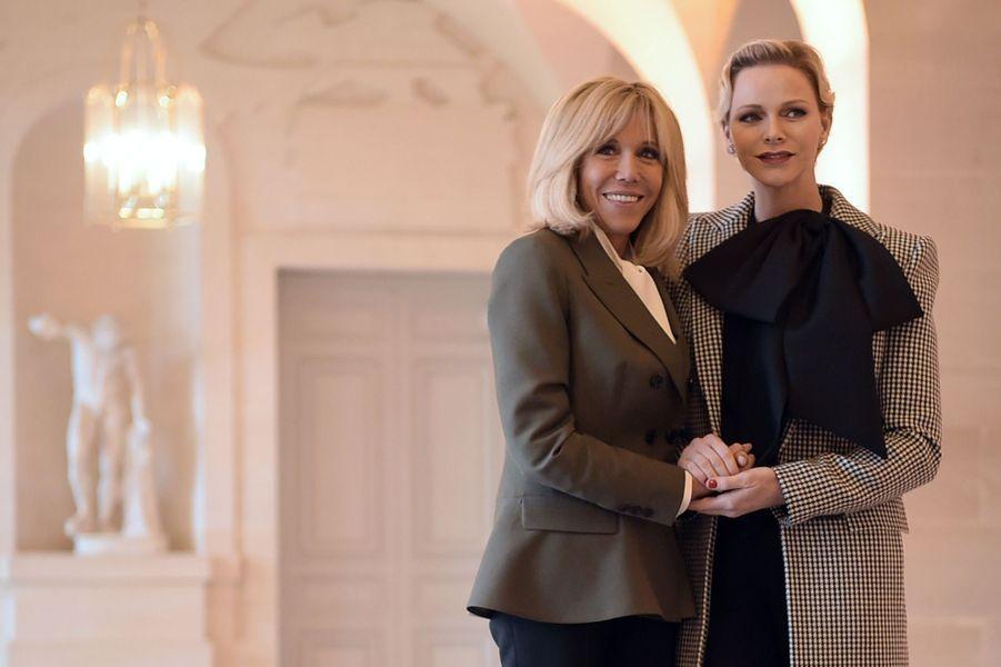 Avec Charlène de Monaco.