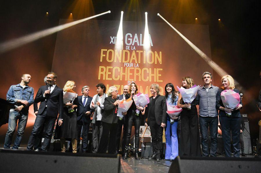 Le XIVeGala de la Fondation pour la Recherche sur Alzheimer, lundi soir à l'Olympia.