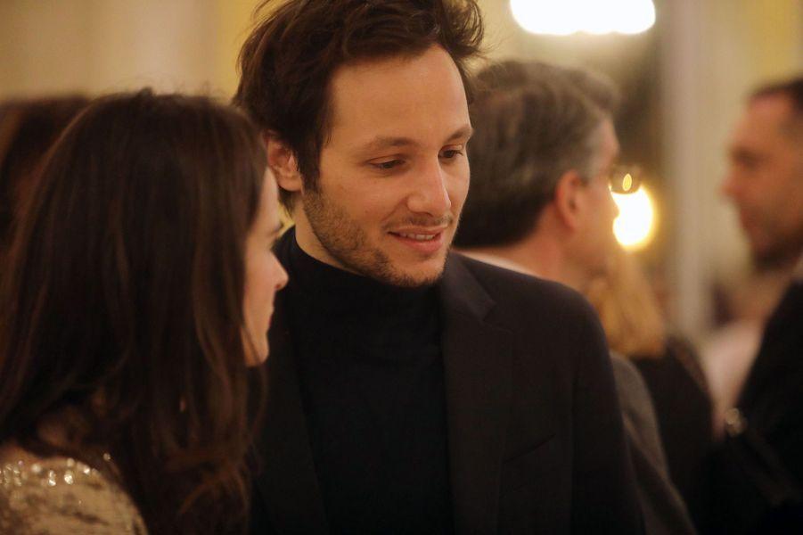 Vianney lors du dîner de gala de la campagne «Guérir le cancer de l'enfant au XXIe siècle»