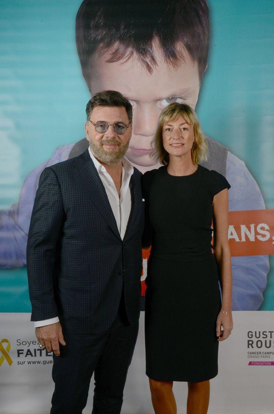 Philippe Lellouche et sa compagneVanessa Boisjean