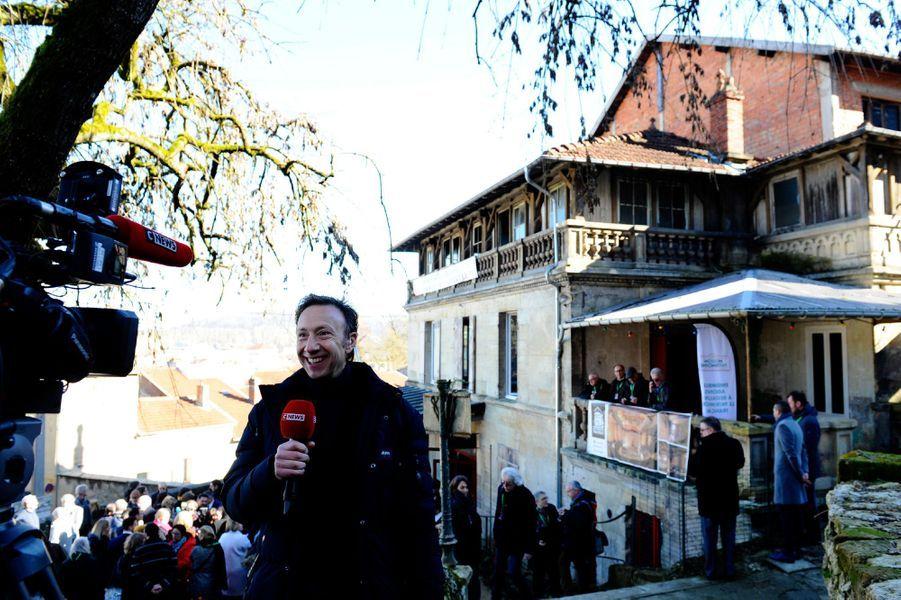 Stéphane Bern vendredi àBar-le-Duc.