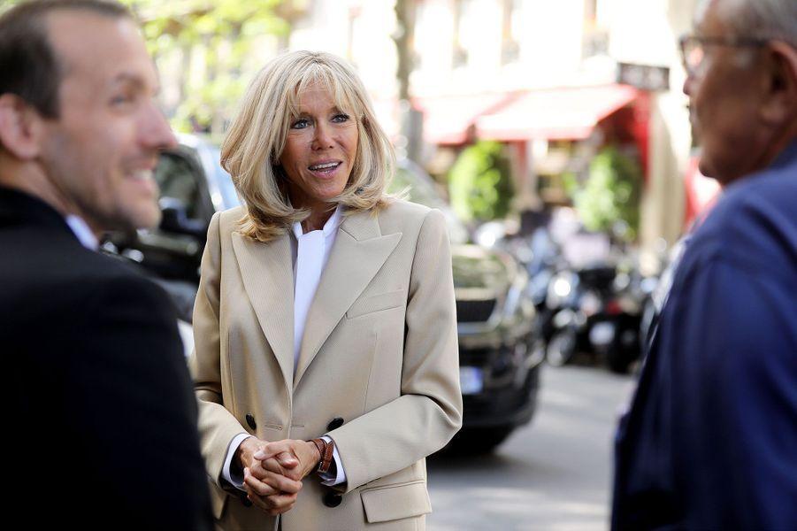 Brigitte Macron a assisté àl'enregistrement de «Symphonie pour la vie»