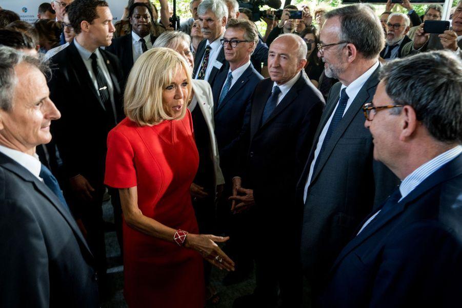 Brigitte Macron inaugure une «maison du répit» mardi, àTassin-la-Demi-Lune , dans la métropole de Lyon.