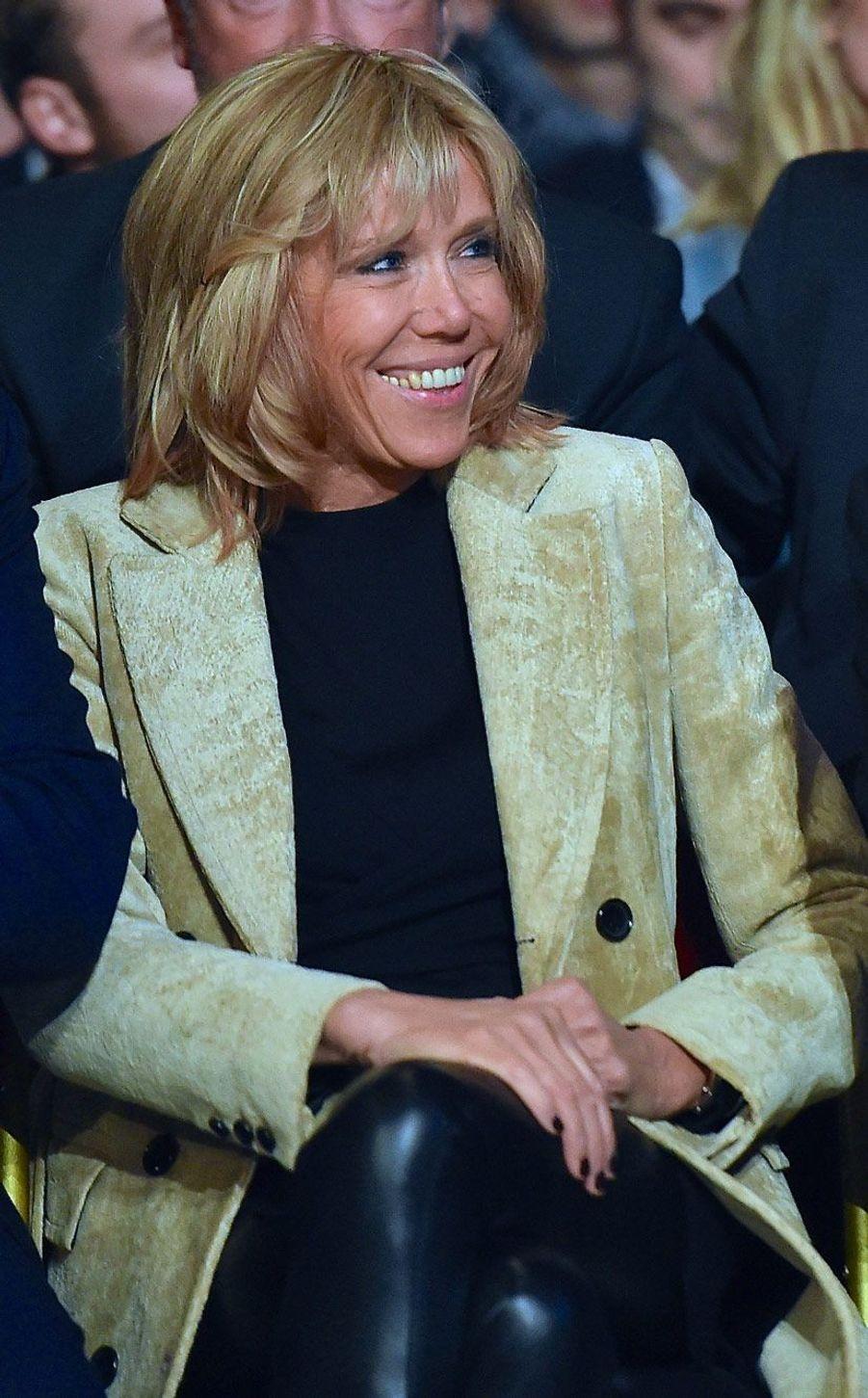 Brigitte Macron au Mans, le 11 octobre