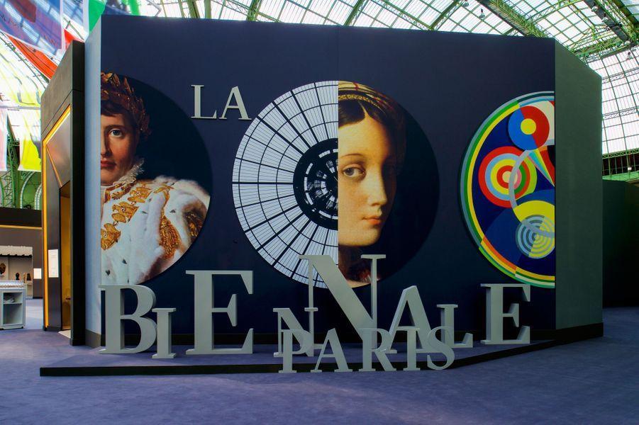 La Biennale Paris lors du dîner de gala le 6 septembre.