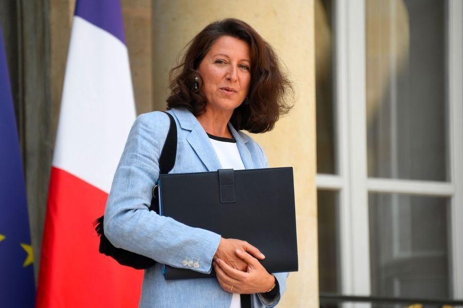 Agnès Buzyn, mercredi à l'Elysée.