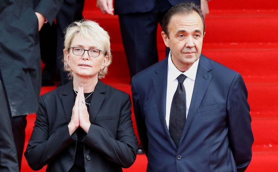Fille cadette de Bernadette et Jacques Chirac, Claude Chirac a organisé avec l'Elysée l'hommage solennel àl'église Saint-Sulpice.