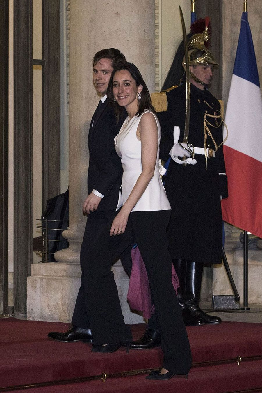Brune Poirson et le député LREMPieyre-Alexandre Anglade.