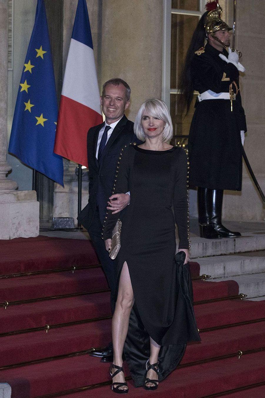 François de Rugy et son épouse Séverine Servat.