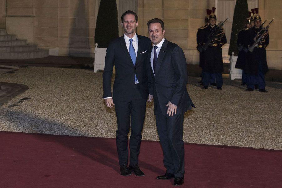 Le Premier ministre du Luxembourg, Xavier Bettel, et son mari, Gauthier Destenay.
