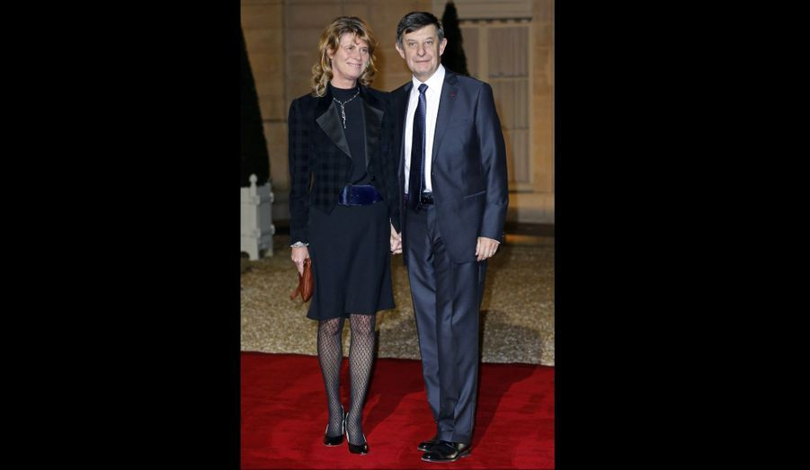 Le président de la Banque publique d'investissement était avec son épouse.