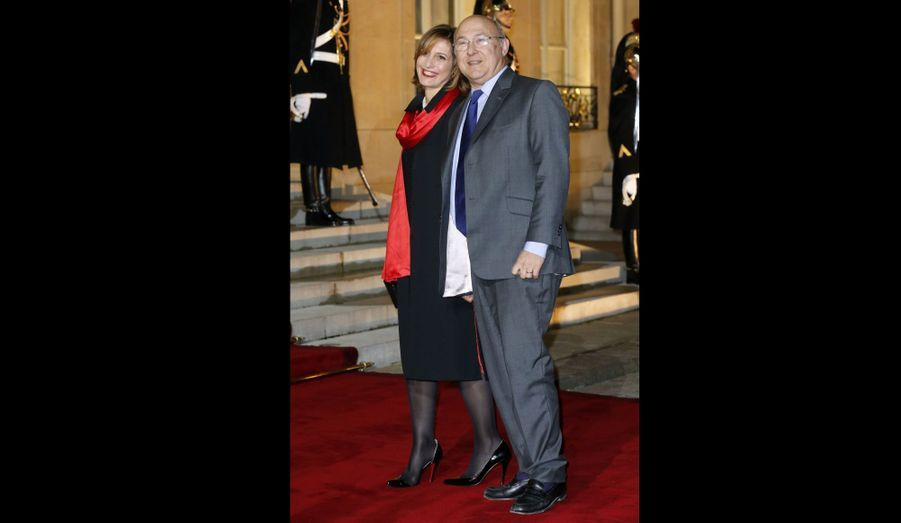 Michel Sapin et sa femme Valérie
