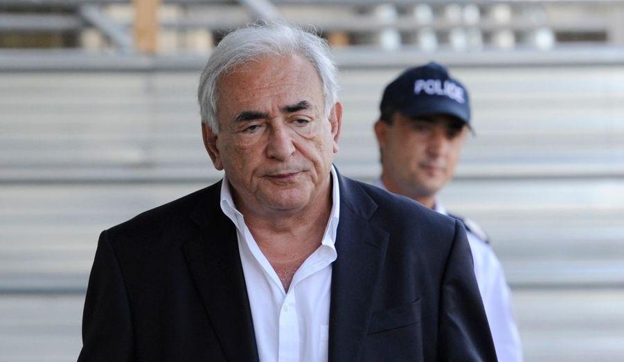 Dominique Strauss-Kahn est arrivé de Marrakech mercredi. Il se repose au Maroc en compagnie de son épouse, Anne Sinclair.