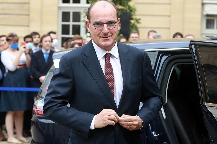 Jean Castex arrive à Matignon.