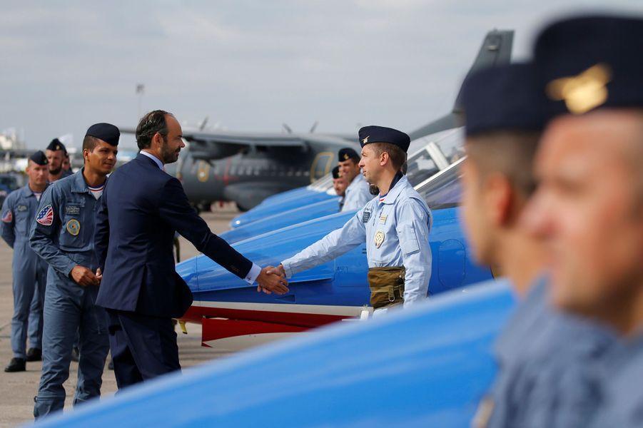 Rencontre avec des pilotes de la patrouille de France.