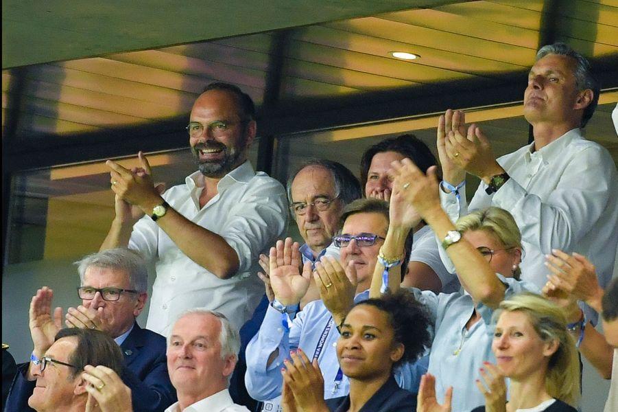 Edouard Philippe dimanche soir au stade Océane du Havre pour France-Brésil.