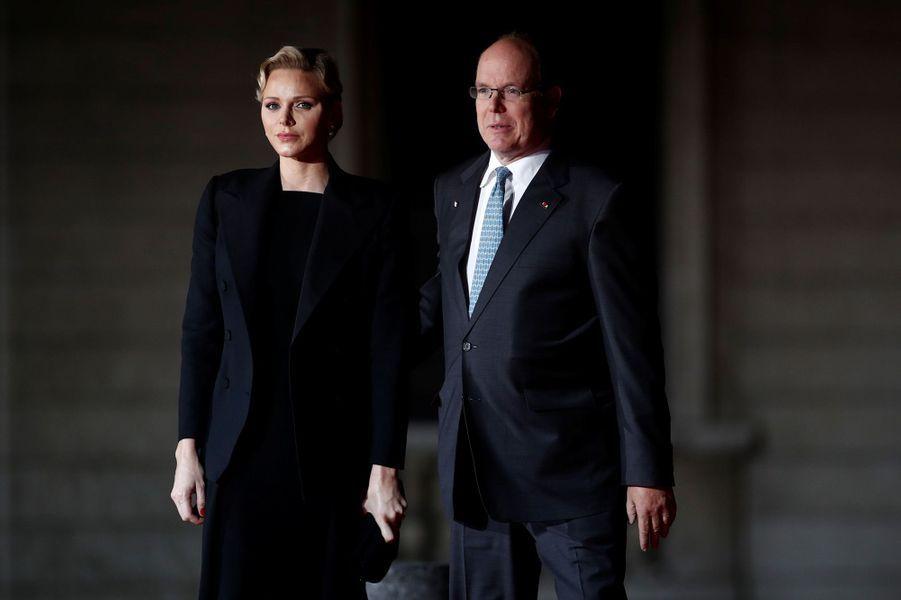 Albert de Monaco et Charlène de Monaco