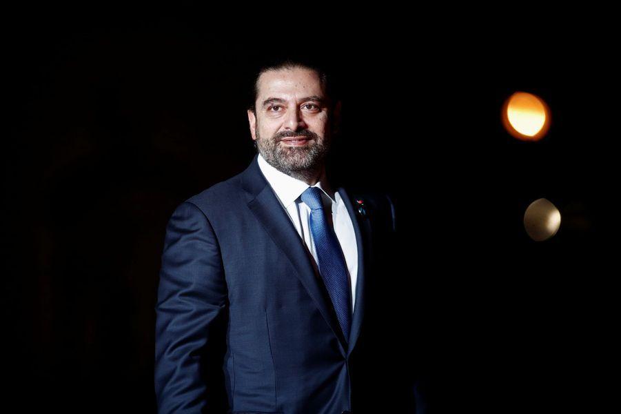 Le Premier ministre du LibanSaad al-Hariri