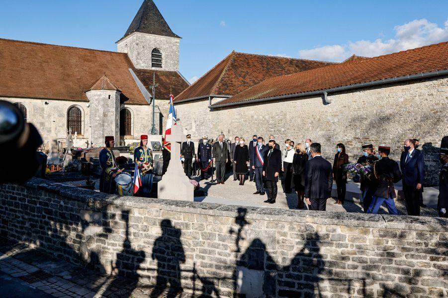 La tombe du général de Gaulle,à Colombey-les-deux-Eglises.