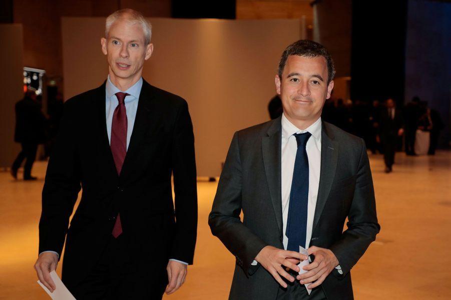 Franck Riester et Gérald Darmanin