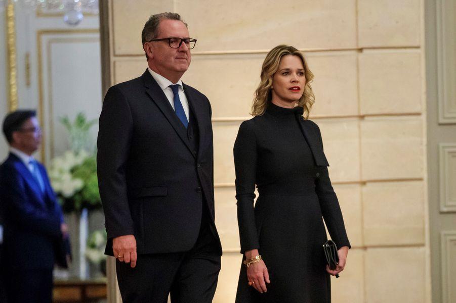 Richard Ferrand et sa compagne Sandrine Doucen