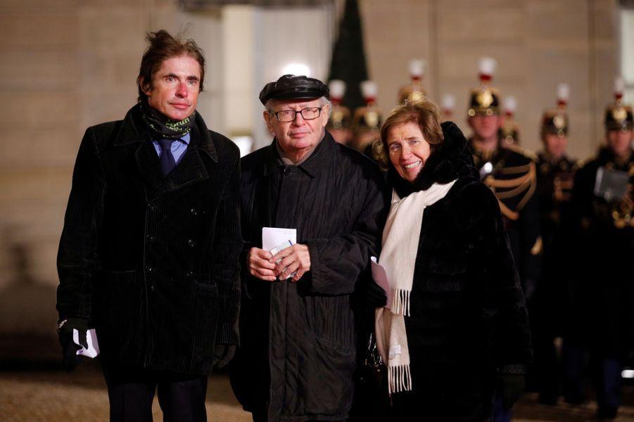 Arno,Serge et Beate Klarsfeld.