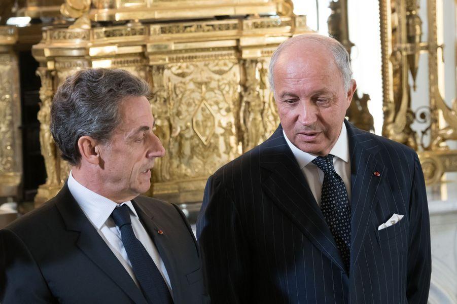 Nicolas Sarkozy et Laurent Fabius