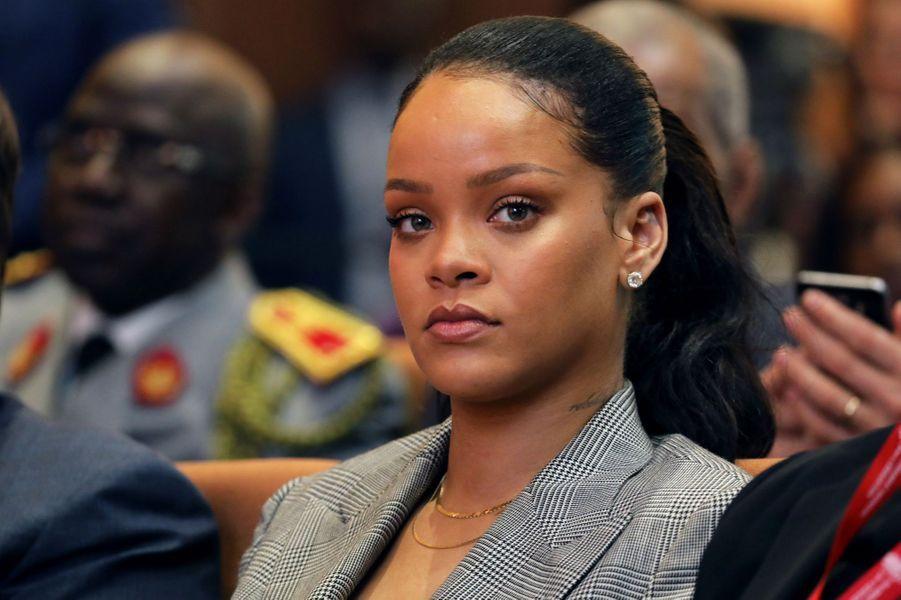 Rihanna au Sénégal.