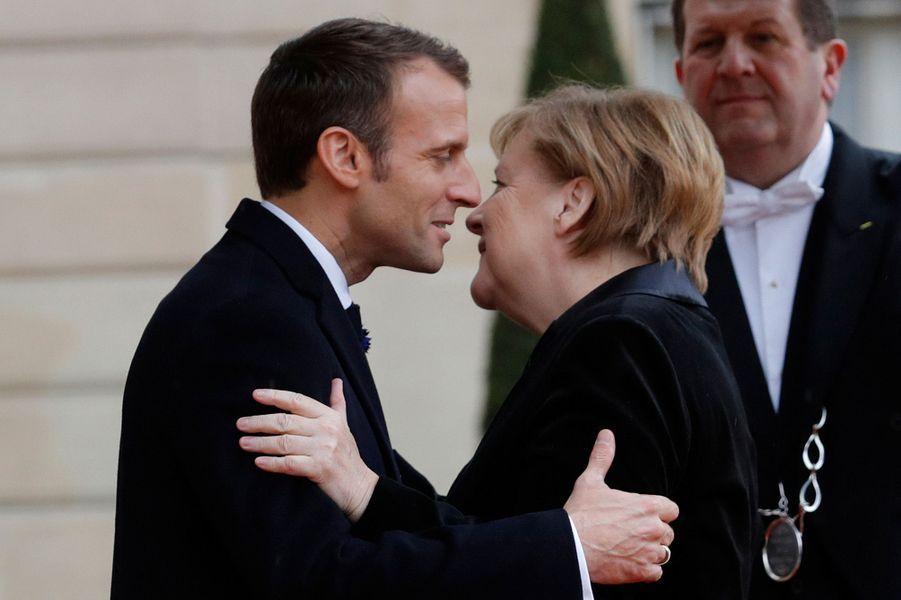 L'arrivée d'Angela Merkel