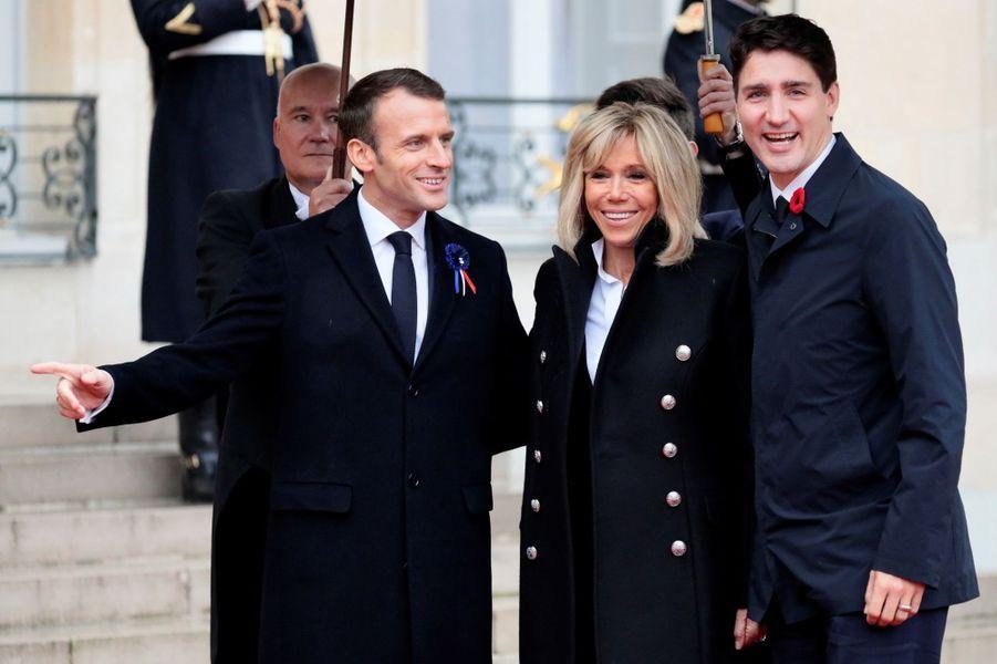L'arrivée du Premier ministre canadien Justin Trudeau