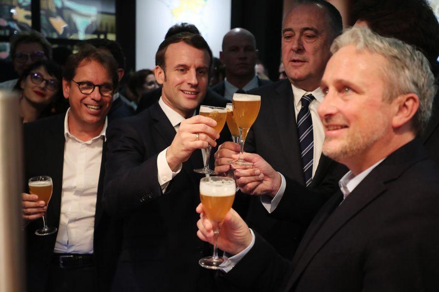 Emmanuel Macrona inauguré samedi à Paris le 57e Salon international de l'Agriculture.