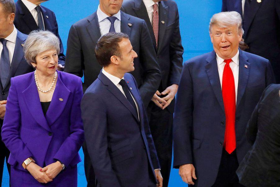 Lors de la photo de famille du G20 de Buenos Aires, en Argentine, le 30 novembre dernier.