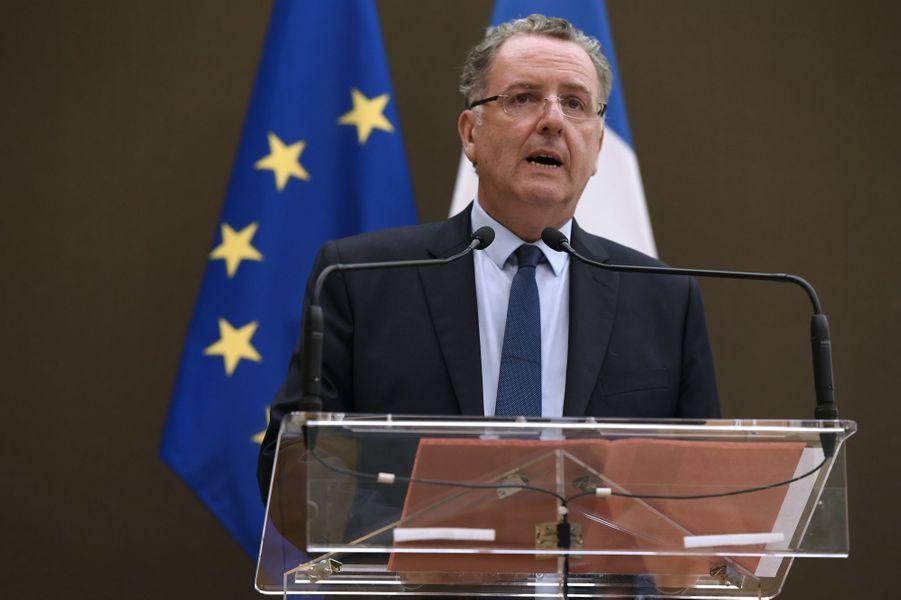 Richard Ferrand (La République en marche) à l'Assemblée nationale le 27 juin 2017.