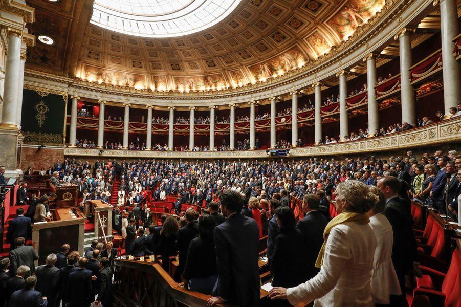 L'Assemblée nationale le 27 juin 2017.