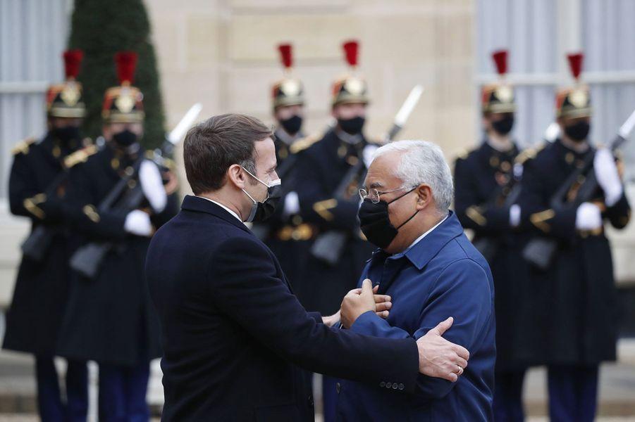 Emmanuel Macron accueille le Premier ministre du Portugal, Antonio Costa, à l'Elysée mercredi, pour un déjeuner.