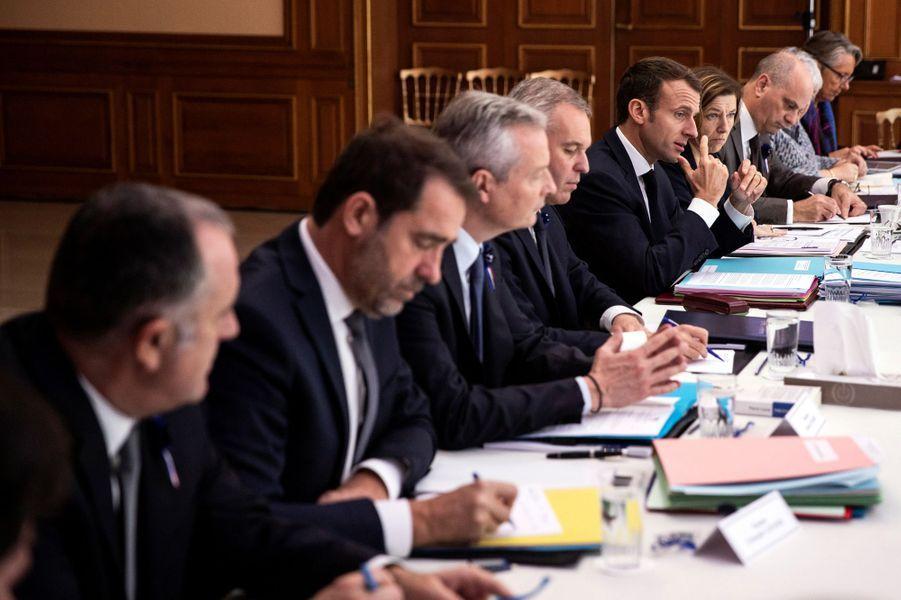 Le Conseil des ministres a été exceptionnellement délocalisé àCharleville-Mézières.