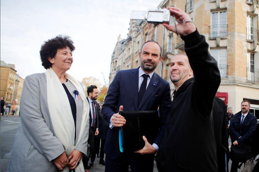 Edouard Philippe à Charleville-Mézières pour un Conseil des ministres décentralisé.