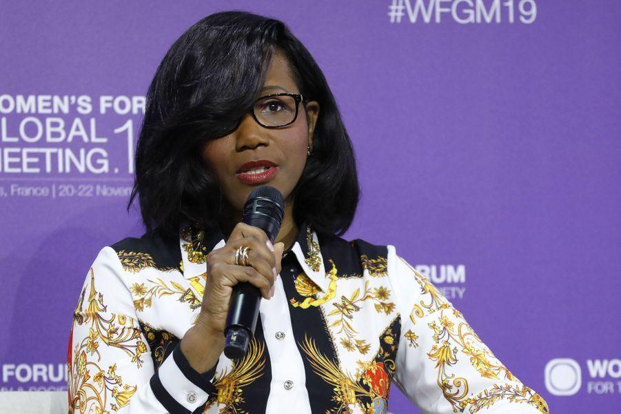 Elisabeth Moreno, ministre délégué en charge de l'Egalité femmes-hommes.