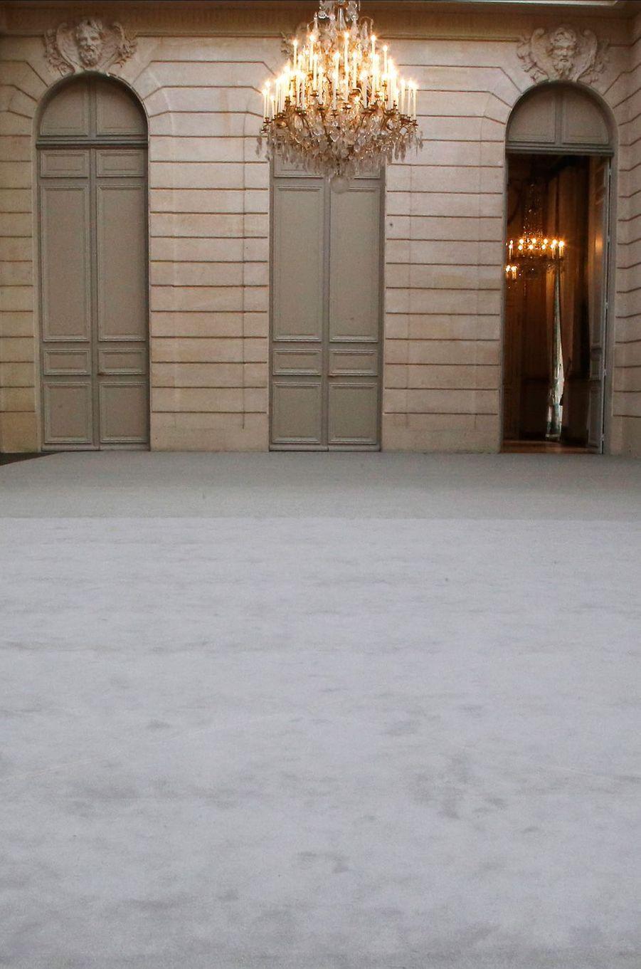 La salle des fêtes de l'Elysée après rénovation.