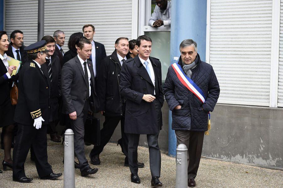 Manuel Valls et François Garay