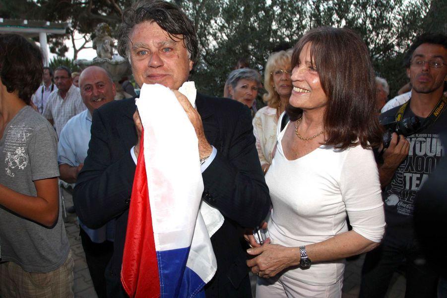 Anne-Marie Collard, l'épouse du député d'extrême-droite Gilbert Collard, fait partie des collaborateurs parlementaires de l'élu.