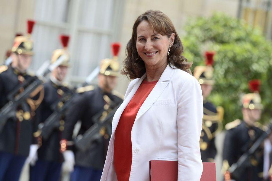 Ségolène Royal au dîner d'Etat à l'Elysée pour le président mexicain Enrique Peña Nieto et son épouse Angélica Rivera