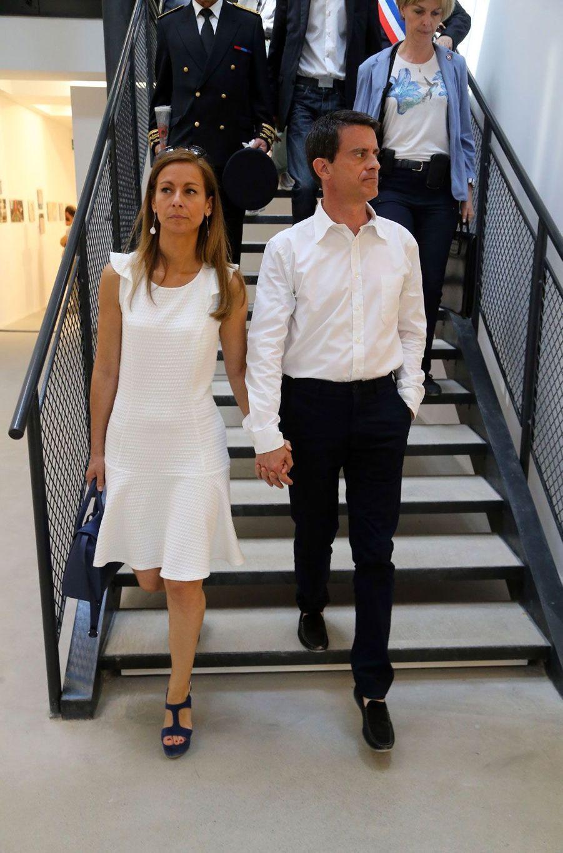 Anne Gravoin et Manuel Valls