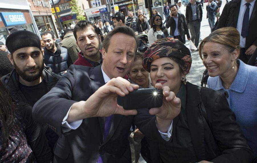 David Cameron en mai 2014