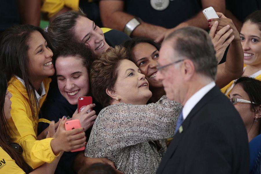 Dilma Rousseff en septembre 2014