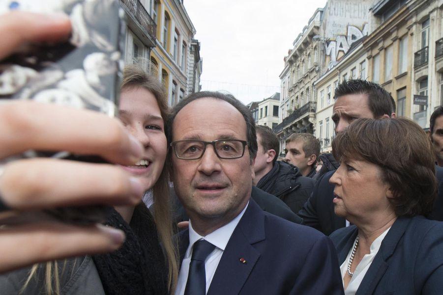 François Hollande en novembre 2014